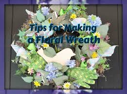 tips to make a floral wreath on styrofoam youtube