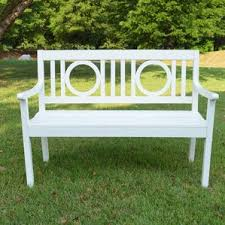 Trex Benches White Outdoor Benches You U0027ll Love Wayfair