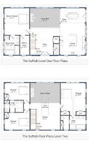 Pole Barn Home Floor Plans 2 Story Barndominium Plan U2026 Pinteres U2026