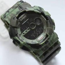 Jam Tangan Casio Gx 56 jam tangan g shock gd100 kw loreng hijau jamtangan my id