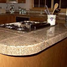 Kitchen Counter Tile - kitchen kitchen countertops this granite tile counterto pictu tile