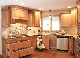 Kitchen Cabinets Made Simple Traditional Style Kitchen Remodeling With Simple Wooden Kitchen