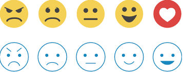 mobile best order for smiley rating scale user experience