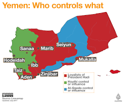 Map Of The Middle East With Capitals by Yemen Conflict Who Controls What Yemen Al Jazeera