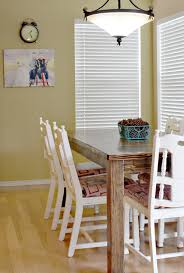 Farmhouse Dining Room Table Plans by Farmhouse Dining Room Table And Chairs Sew Much Ado