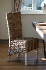 Wicker Dining Room Chairs EBay - Wicker dining room chairs