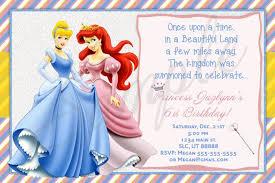and ariel birthday invitations princess birthday invitations