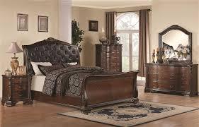 coaster bedroom set 6 piece bedroom set in warm cappuccino finish by coaster 202261