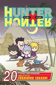 hunter x hunter hunter x hunter vol 20 book by yoshihiro togashi official