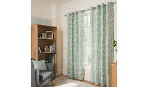 george home duck egg daisy geo curtains home u0026 garden george