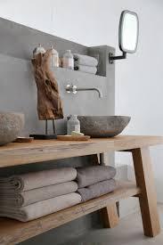 Bad Waschtisch Sommer Auf Syros Rustikales Holz Waschtisch Und Waschbecken