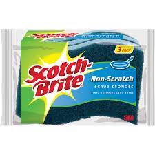 scotch brite nook cranny scrubbers 2 pack walmart com