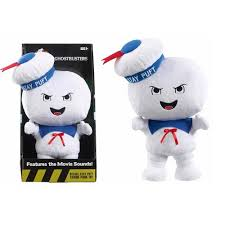 ghostbusters singing angry stay puft marshmallow plush