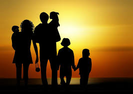 free photo family children sunset free image on pixabay 730320