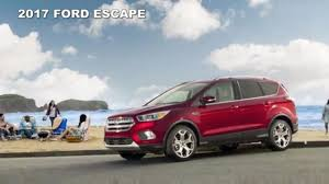 Ford Escape Features - 2017 ford escape suv preview u0026 features youtube