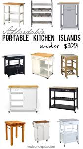 portable islands for kitchen kitchen islands decoration best 25 portable kitchen island ideas on pinterest portable affordable kitchen islands portable beautiful and less than 300 each