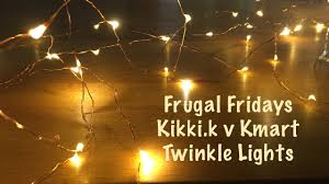 twinkle lights frugal fridays kikki k versus kmart twinkle lights