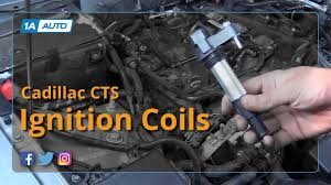 cadillac cts auto parts how to replace install ignition coils 06 07 cadillac cts
