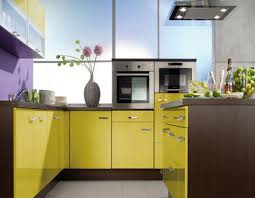 colour designs for kitchens kitchen stylish orange color idea for small kitchen with under