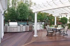 outdoor kitchen flooring ideas video and photos madlonsbigbear com