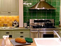 green tile kitchen backsplash my home backsplash tiles