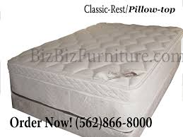 2pcs full size classic rest collection pillow top 259