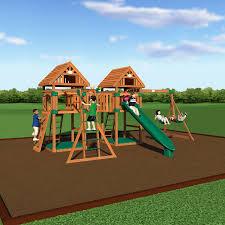Backyard Discovery Montpelier Cedar Swing Set Backyard Discovery Mason Wooden Swing Set Home Outdoor Decoration