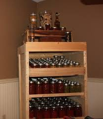 pallet canning pantry cupboard