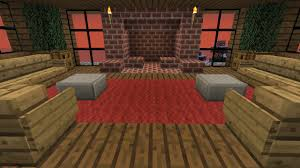 Cool Furniture In Minecraft by Hard Core Minecraft How To Build Furniture And A Fireplace Part