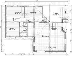 plan de maison 3 chambres salon plan maison 80m2 3 chambres plan de masse de maison