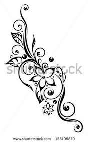 tribal flower designs 74