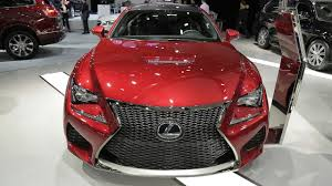 lexus rcf red 2017 lexus rcf exterior and interior walkaround 2017montreal
