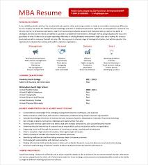 smartness design mba application resume 14 mba resume template