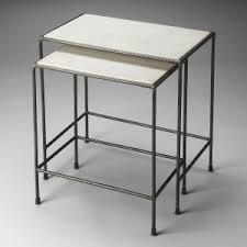 butler specialty nesting tables metalworks collection by butler specialty furniture unlimited