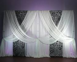 Black Backdrop Curtains Black Backdrop Curtains Black Floral Felt Cutout For Backdrop