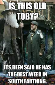 Toby Meme - is this old toby its been said he has the best weed in south