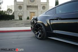 New Black Mustang Black On Black Mustang 50 Anniversary On Project 6gr Wheels Need