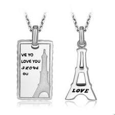 Engraved Necklaces For Couples Personalized Connecting Switch Socket Unique Name Couple Necklaces