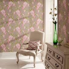 clarke u0026 clarke wisteria wallpaper