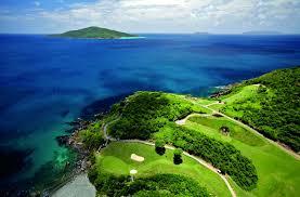 St Thomas Virgin Islands Map Recreation Mahogany Run Golf Course The Ritz Carlton St Thomas