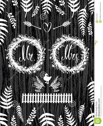 rustic country wedding design card stock vector image 44101341