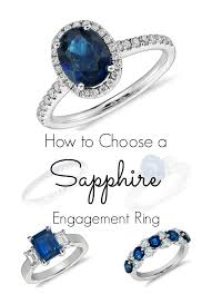 engagement rings sapphires images How to choose a sapphire engagement ring jpg