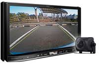 how do i set the rearview camera settings on the avh x1500dvd