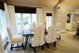 dining room chair covers dining room chair slipcovers for on budget re decoration