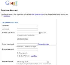 step 1 how to create a gmail account sandor s exle club