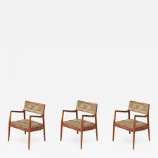 jens risom jens risom u0027playboy u0027 armchairs set of three