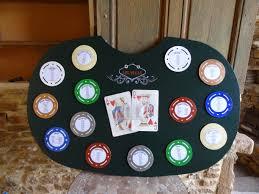 set de table originaux diy plan de table mariage table de poker et jetons table hôtel de