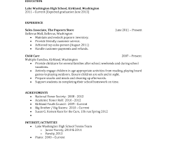 resume templates for junior high students achieving goals together resume sle for highhool students with no experience http
