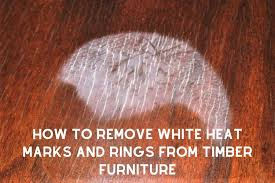 how to remove white spots of wood furniture how to remove white heat marks rings from timber furniture