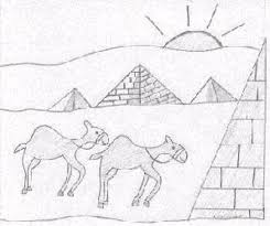ancient egypt the pyramids third grade reading passage